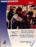 Catálogo de Productos Y Servicios de Head Start