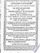 Catecismo catholico