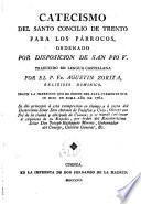 Catecismo del Santo Concilio de Trento para los párrocos, ordenado por disposición de San Pio V