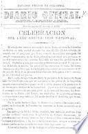 Celebración del LXIII Aniversario Nacional