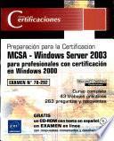 Certificaciones MCSA Windows Server 2003 para prof...
