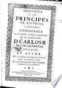 Chronica de los principes de Asturias y Cantabria ...