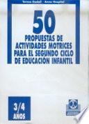 CINCUENTA PROPUESTAS DE ACTIVIDADES MOTRICES -3/4 años- FICHERO