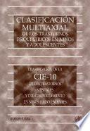 Clasificacion Multiaxial Trastornos Psiquiatricos