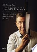 Cocina con Joan Roca