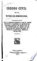 Código civil de la Republica Dominicana