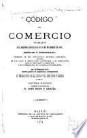 Código de comercio arreglado á la reforma decretada en 6 de diciembre de 1868