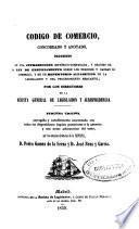 Código de comercio concordado y anotado