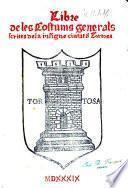 Código de las costumbres escritas de Tortosa a doble texto