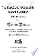 Código de procederes, Santa-Cruz