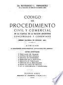 Código de procedimiento civil y comercial de la capital de la Nación Argentina