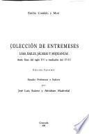 Colección de entremeses, loas, bailes, jácaras y mojigangas
