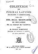 Coleccion de poemas latinos