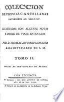Coleccion de poesias castellanas anteriores al siglo XV, 2