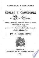 Coleccion de Romances Castellanos, anteriores el Siglo 18