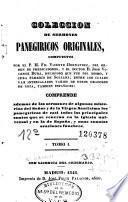 Coleccion de sermones panegiricos originales, 1-2