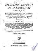 Coleccion General De Documentos