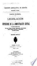 Colección legislativa de España ...