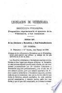 Colección legislativa de veterinaria civil, militar, ganadería, cría caballar, paradas y agricultura, ó sea el libro de oro comentado...