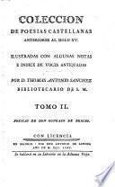 Colléccion de poesias castellanas