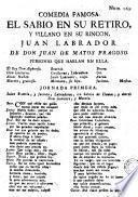 Comedia famosa, El sabio en su retiro y villano en su rincon, Juan Labrador