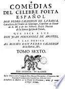 Comedias de Pedro Calderón de la Barca, 6
