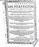 Compas de perfectos, Christo crucificado