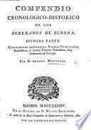 Compendio cronologico-historico de los Soberanos de Europa