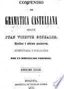 Compendio de gramatica castellana