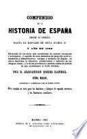 Compendio de la historia de España