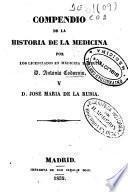 Compendio de la historia de la medicina