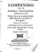 Compendio de la historia eclesiástica