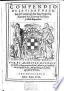 Compendio de la Vida y hazañas del Cardenal Francisco Ximenez de Cisneros