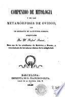Compendio de mitologia y de las Metamorfosis de Ovidio