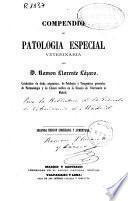 Compendio de patología especial veterinaria