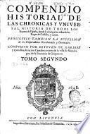 Compendio historial de las chronicas y universal historia de todos los reynos de España