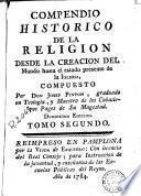 Compendio historico de la religion