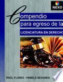 COMPENDIO PARA EGRESO DE LICENCIATURA EN DERECHO