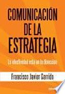 Comunicación de la estrategia