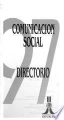 Comunicación social, directorio