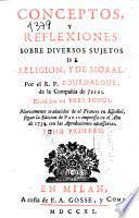Conceptos y reflexiones sobre diversos sujetos de religión y de moral