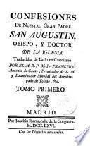 Confesiones de Nuestro gran Padre San Agustín