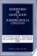 Constitución política de la República de Chile, 1980