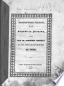 Constitucion politica de la Republica Peruana