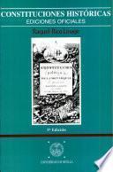 Constituciones históricas
