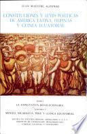 Constituciones y leyes políticas de América Latina, Filipinas y Guinea Ecuatorial