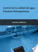 Control de la calidad del agua