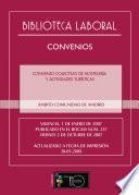CONVENIO COLECTIVO DE HOSTELERÍA Y ACTIVIDADES TURÍSTICAS