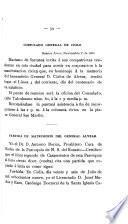 Corona fúnebre dedicada al Brigadier General Carlos De Alvear en el día de su centenario, 4 de Noviembre 1889