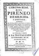 Corona real del Pireneo ...